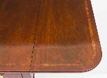 Antique Regency George III Pembroke Table Gillows c.1820-5