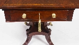 Antique Regency George III Pembroke Table Gillows c.1820-7
