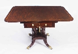 Antique Regency George III Pembroke Table Gillows c.1820-3