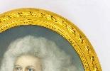 Antique Pair French Pastel & Gouache Portraits Mid 19th C-8