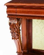 Antique Victorian Mahogany Console Hall Table 19th Century-2