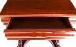 Antique Victorian Mahogany Console Hall Table 19th Century-6