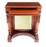 Antique Victorian Mahogany Console Hall Table 19th Century-5