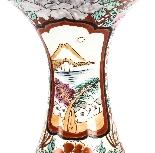 Coppia di vasi antichi in porcellana giapponese Meiiji Imari-8