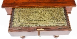 Antique English Empire Console Writing Side Table 19th C-5