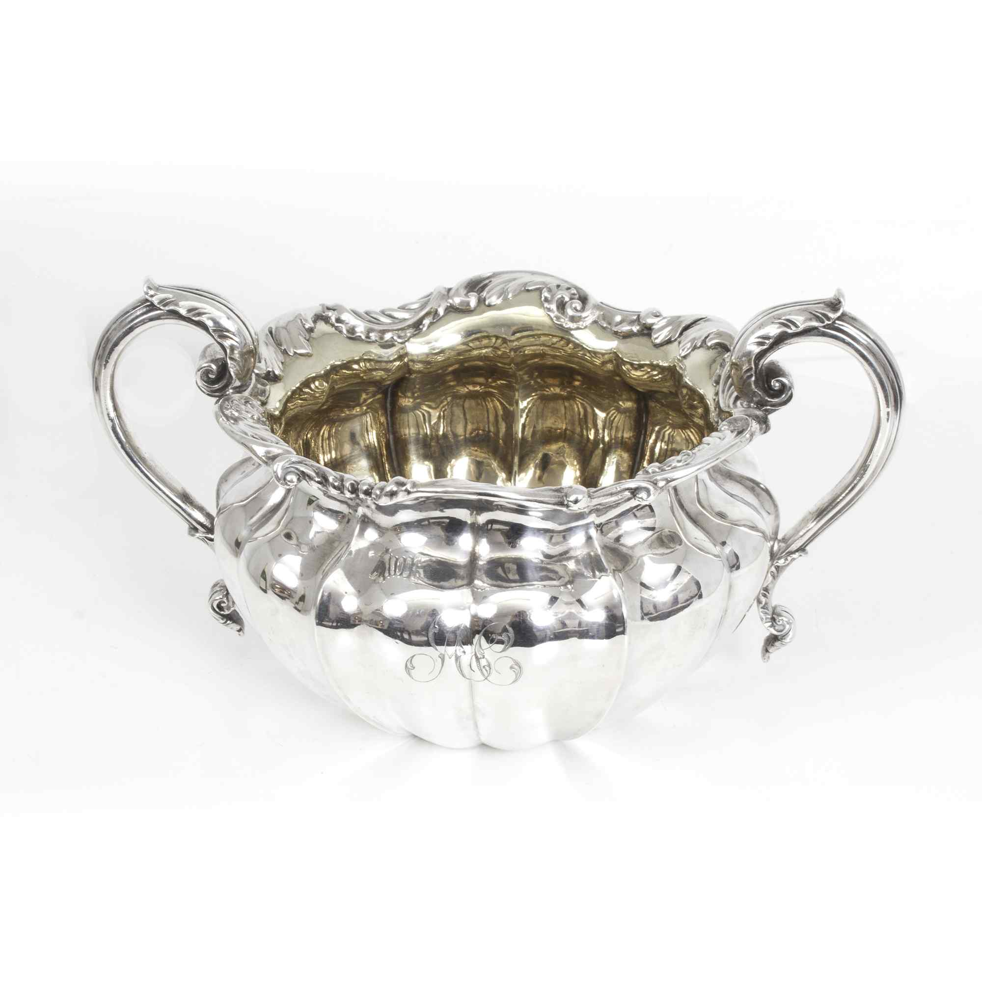 Zuccheriera antica William IV in argento sterling di Paul St
