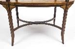 Antique English Mahogany & Satinwood Etagere Tray Table-6