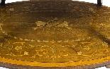 Antique English Mahogany & Satinwood Etagere Tray Table-4