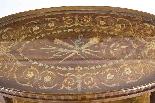 Antique English Mahogany & Satinwood Etagere Tray Table-3