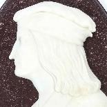 Antique Italian Marble Profile Plaques of Virgil & Dante-4