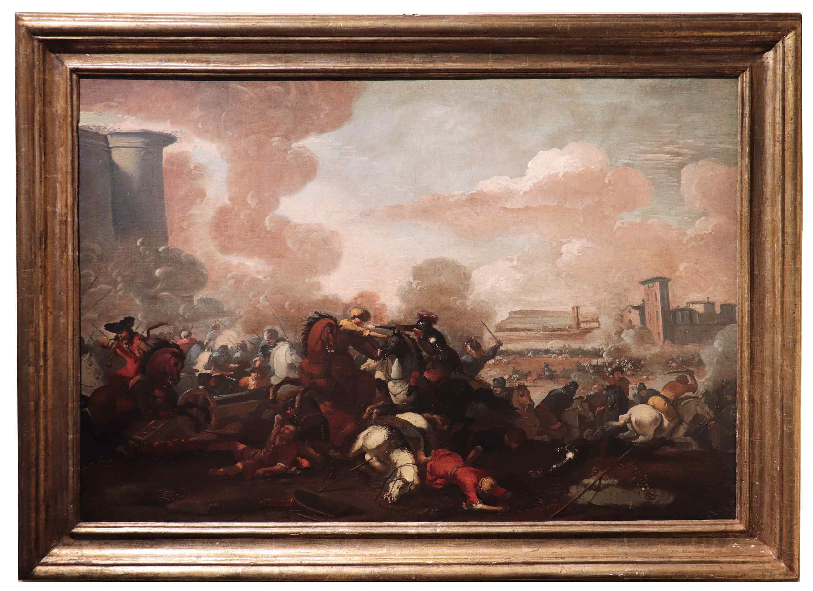 Marzio Masturzo (Naples and Rome 17th century) - battle