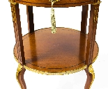 Antique French Marble & Ormolu Occasional Table 19th C-6
