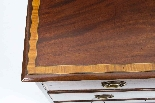 Antique Victorian Inlaid Mahogany Chest c.1880-3