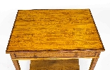 Antique Sheraton Revival Satinwood Occasional Side Table-2