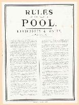 Antico tabellone segnapunti vittoriano per piscina e 2 stamp-4