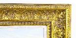 Dipinto ad olio su tela antico paesaggio XIX secolo-7