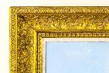 Dipinto ad olio su tela antico paesaggio XIX secolo-8