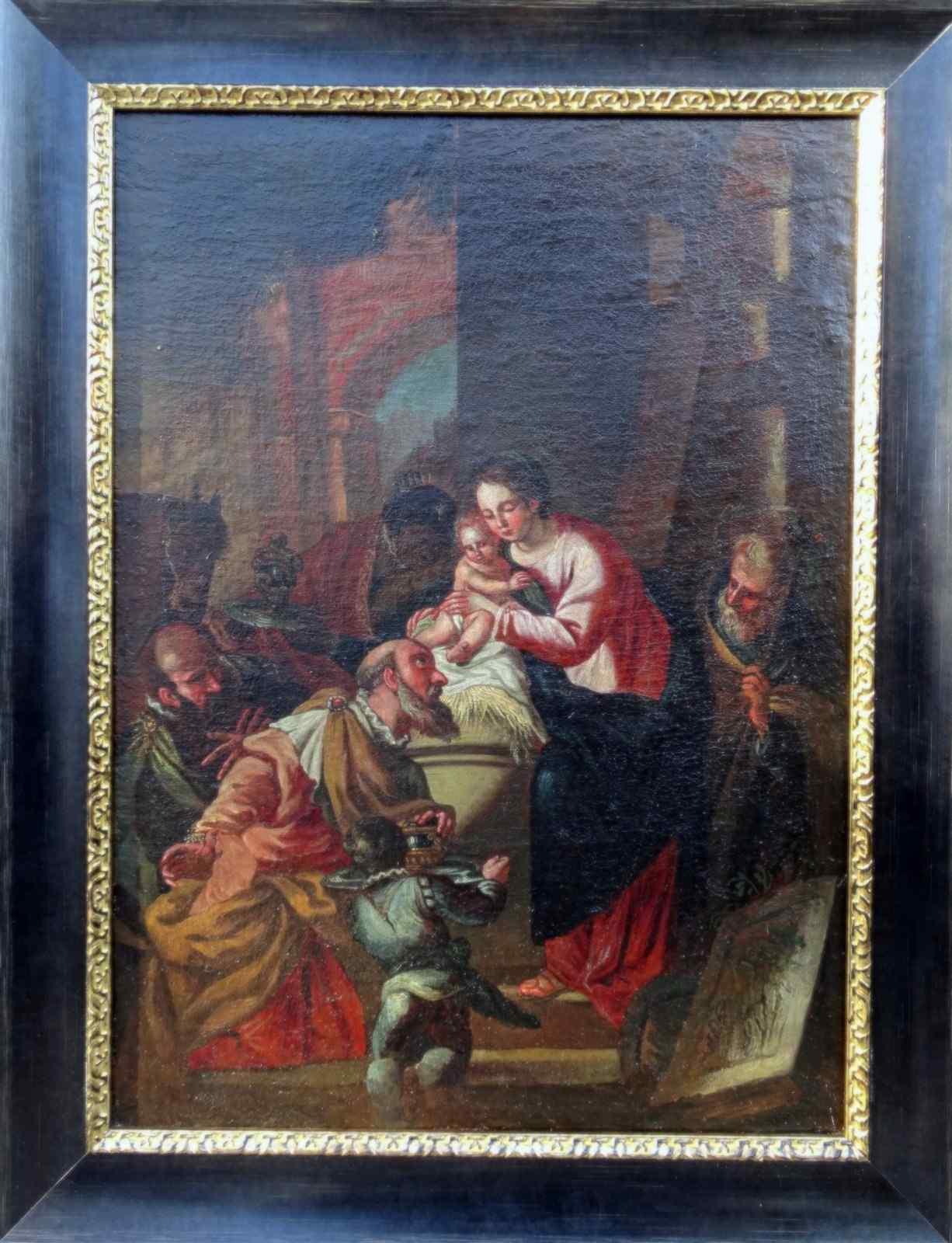 Adorazione della scuola francese XVII Magi
