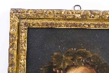 Antique Painting 'Young Classical Boy' c.1880-0