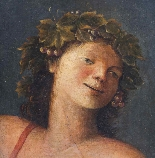 Antique Painting 'Young Classical Boy' c.1880-1