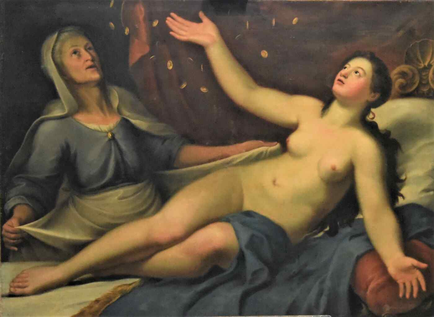 Ancient 18th century painting