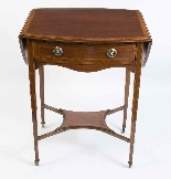 Antique Edwardian Inlaid Occasional Table c.1900-1