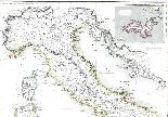 Antica mappa d'Italia disegnata e incisa R. Scott per Thomso-1