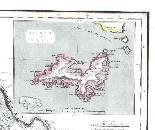 Antica mappa d'Italia disegnata e incisa R. Scott per Thomso-2