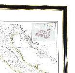 Antica mappa d'Italia disegnata e incisa R. Scott per Thomso-3