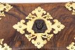 Scatola da cucito antica in stile vittoriano Revival C1860-3