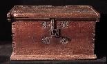 Gothic chest-chest, Veneto XVth century-2