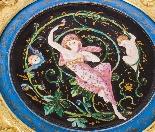 Antico cofanetto in porcellana Art Nouveau Ormolu e Minton C-4
