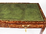 Scrivania da tavolo antica in mogano della biblioteca di Gio-4