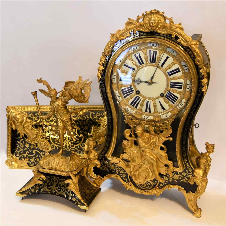 Grand Cartel pendulum mid 18th century