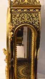 Grand Cartel pendulum mid 18th century-3