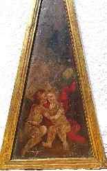 5 importanti pannelli d'altare dipinti del XVII secolo-15