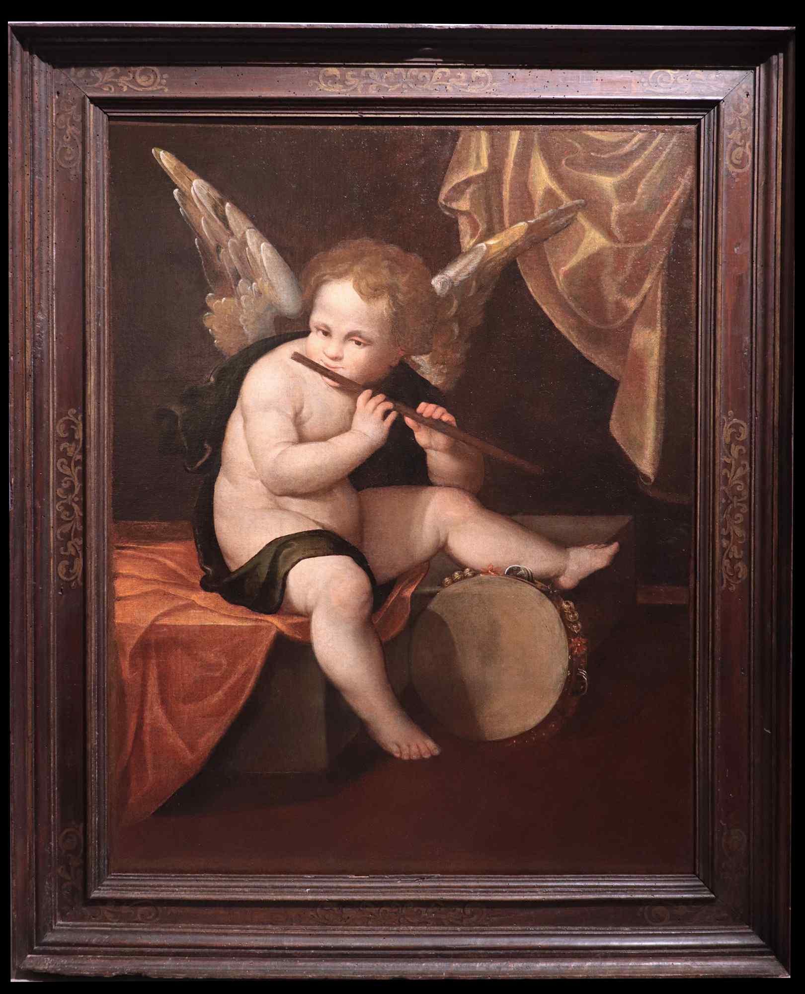 Francesco Vecellio (1475-1560) - Musician Angel