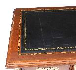 Scrivania con montatura antica Ormolu rinascita Impero franc-3