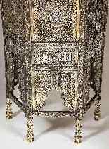 Eccezionale coppia di islamici Mamluk Revival argento intars-17