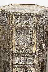 Eccezionale coppia di islamici Mamluk Revival argento intars-16