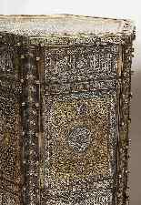 Eccezionale coppia di islamici Mamluk Revival argento intars-15