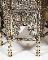 Eccezionale coppia di islamici Mamluk Revival argento intars-5
