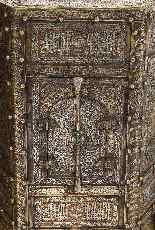 Eccezionale coppia di islamici Mamluk Revival argento intars-19