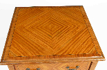 Tavolino antico vittoriano in legno satinato del XIX secolo-5