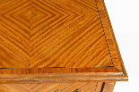 Tavolino antico vittoriano in legno satinato del XIX secolo-6
