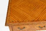 Tavolino antico vittoriano in legno satinato del XIX secolo-7