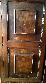 Antique Renaissance furniture in walnut and briar walnut-1
