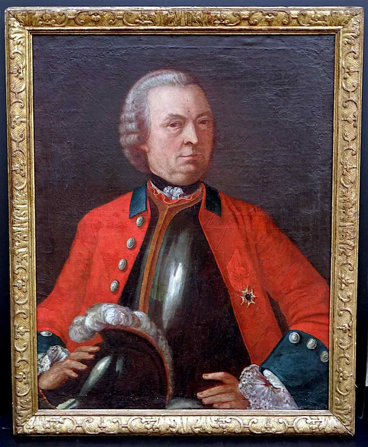 Mr De Sadouvilliers de Billaud Capitaine des Grenadiers de F