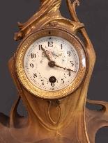Antique liberty gilt bronze clock-2