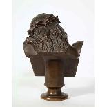 Jean-Baptiste Auguste Clesinger, busto di Gesù in bronzo fra-4